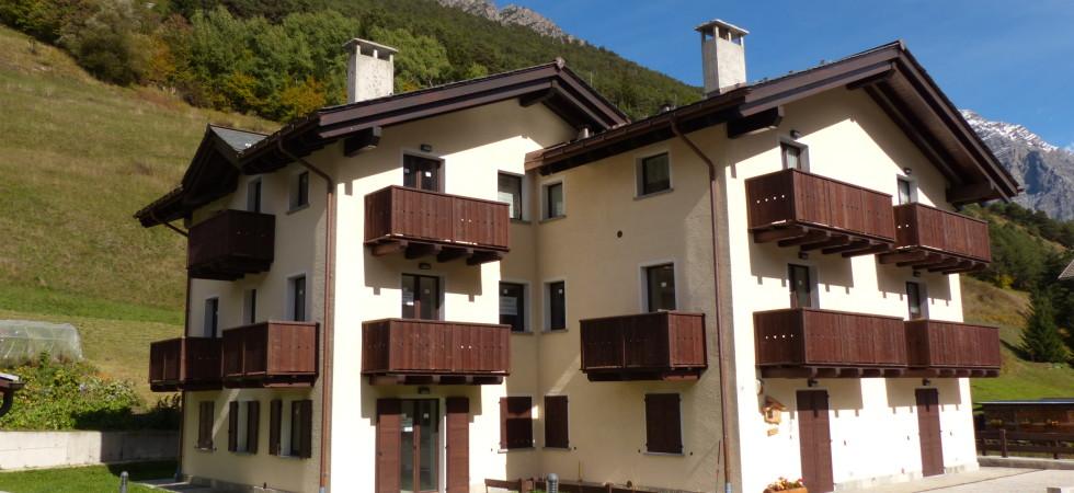Appartamenti nuovi, classe A in Valdidentro, bilocali e trilocali