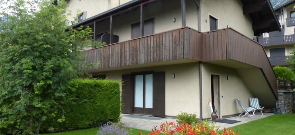 Appartamento su due livelli in zona panoramica a Bormio