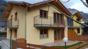 A Sondalo appartamento al primo piano in villetta bifamiliare
