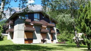 A Bormio, trilocale panoramico in affitto e in vendita