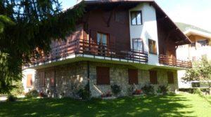 Trilocale a Bormio, in zona residenziale con grande giardino