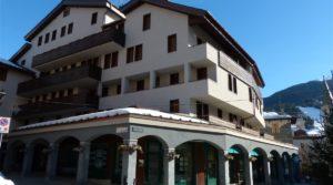 Appartamento centro Bormio con balcone, 1 camera
