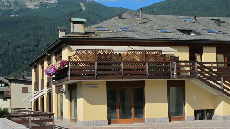 Mansarda in affitto in centro Bormio con 2 camere da letto