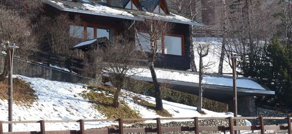 Appartamento a Bormio con 4 camere in villetta panoramica