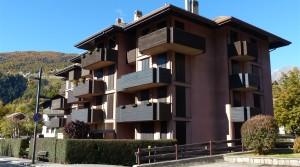 Mansarda in centro Bormio con 2 camere e doppi servizi