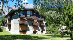 A Bormio, trilocale panoramico in affitto
