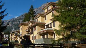Appartamento centro Bormio, trilocale in zona residenziale