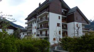 Trilocale centro Bormio, con balconi, ascensore e box
