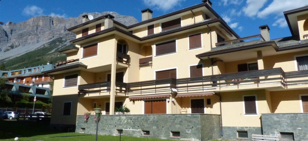 Appartamento centro Bormio, trilocale con doppi servizi