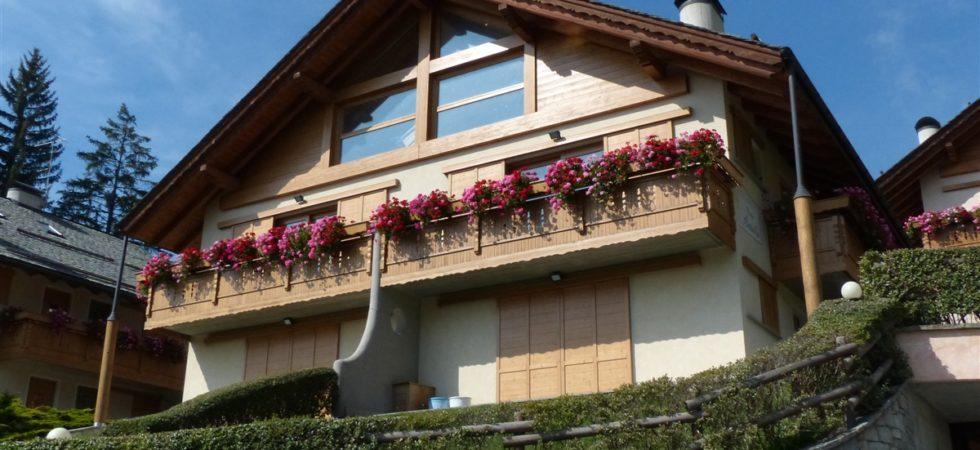 Appartamento in Bormio in caratteristico chalet