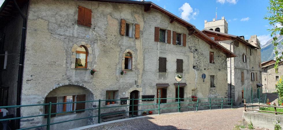 Centro storico di Bormio, trilocale termoautonomo